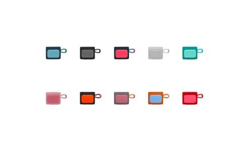 乐享时尚,潮动生活 JBL GO3音乐金砖三代便携式蓝牙音箱